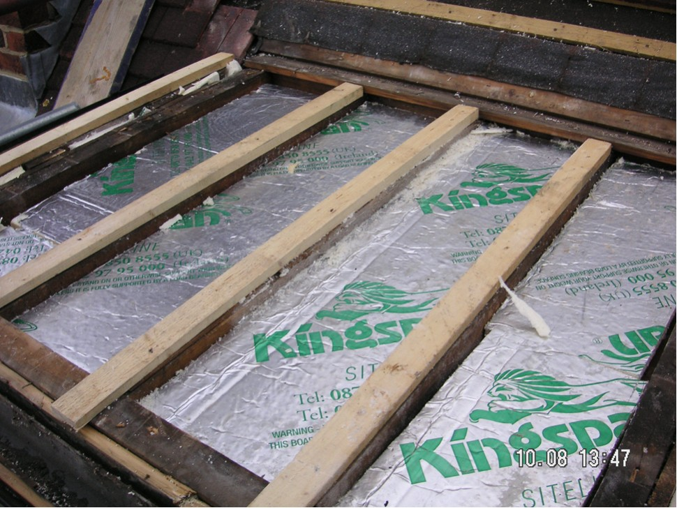 Kingspan Being Used To Upgrade Insulation