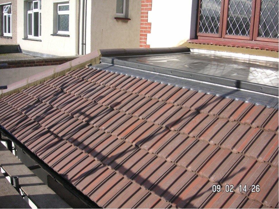 New Crown Flat Roof With New Tiles Amp Leadwork
